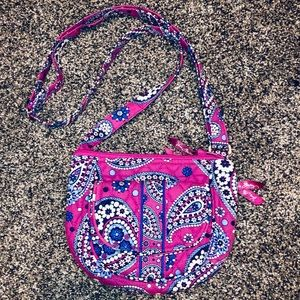 Vera Bradley Woman's Lizzie Crossbody Bag Purse